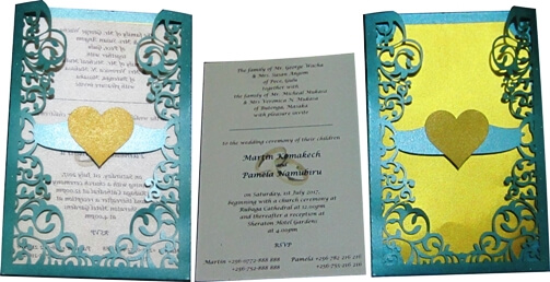 Discover Low-cost Wedding Card Designs with High Perceived Value!