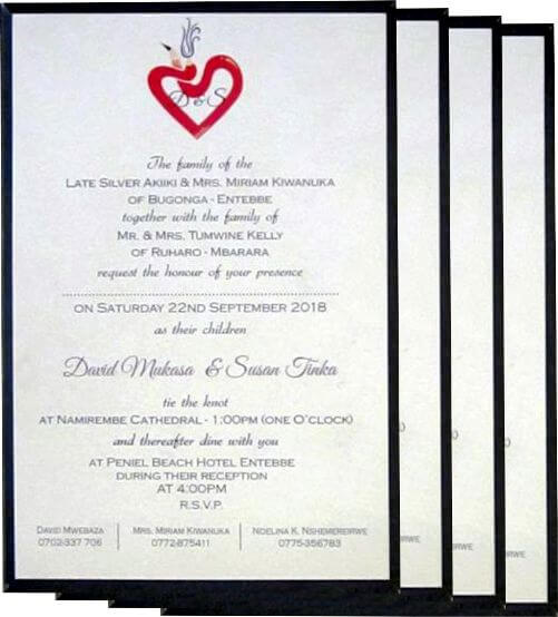 Wedding Invitation Panel Cards – A Traditional Style with Modern Touch