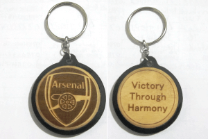 Engraved Soccer Teams Keychains For Football Lovers