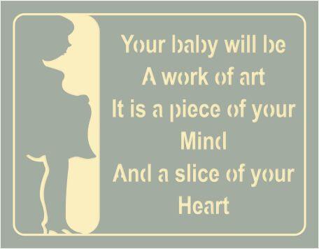 pregnancy card