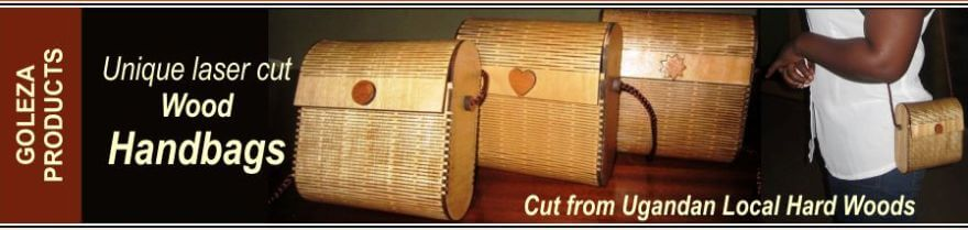 laser-cut wood bags